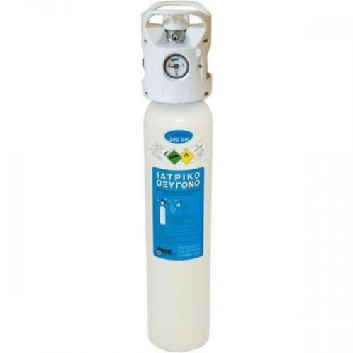 Φιάλη Ιατρικού Οξυγόνου 2lt Αυτόματο Κλειστρο- Ρυθμιστή Combilite 0803010
