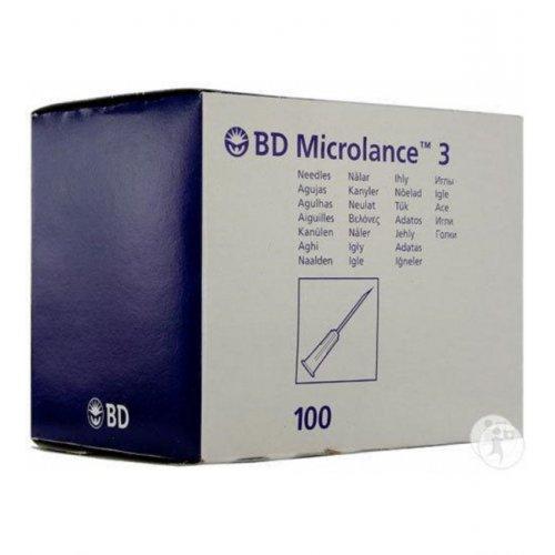 """Βελόνες Μιας Χρήσεως BD Microlance 19G x 11/2"""" 1,1mm x 40mm (100τμχ) 301500"""