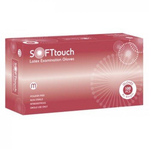 Soft Touch Sense λευκό χωρίς πούδρα 100τμχ 110.002