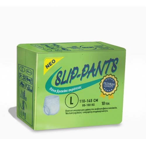 Πανα βρακακι Slip-pants Plus Large (10τμχ) 43340A