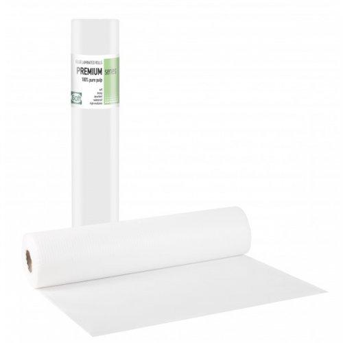 PREMIUM STANDARD Πλαστικό + Χαρτί Λευκό - 50cm x 50m (1τμχ)108.023.SA
