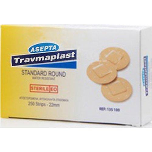Επιθέματα μικροτραυμάτων strips TRAVMAPLAST(250τμχ) 135100
