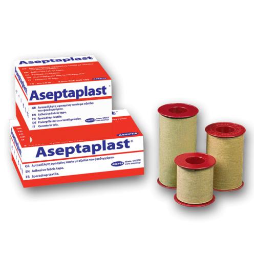 Αυτοκόλλητη Χειρουργική Ταινία Aseptaplast 5cm x 5m (1τμχ) 230103