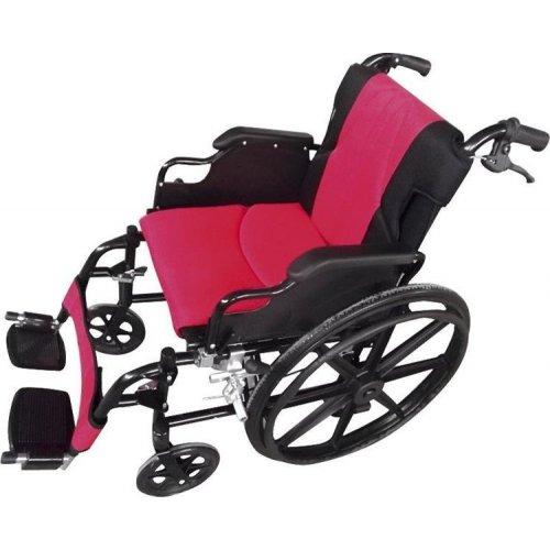 Αναπηρικό αμαξίδιο σειρά Golden κόκκινο μαύρο Μobiakcare 0808480