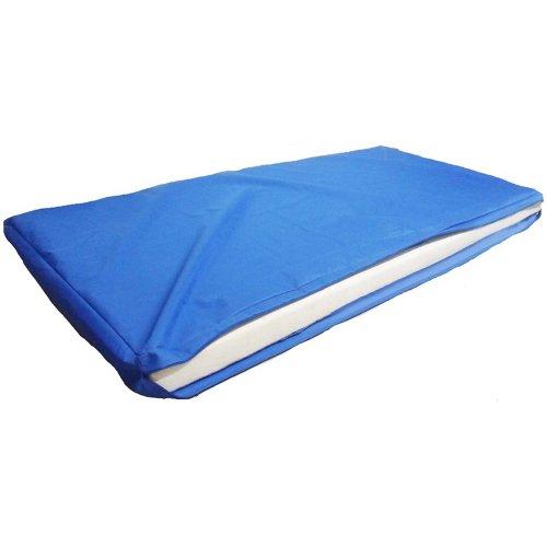 Κάλυμμα στρώματος αδιάβροχο πλαστικό 200Χ90Χ10 cm από μαλακό PVC 1τμχ Mobiakcare  0806634
