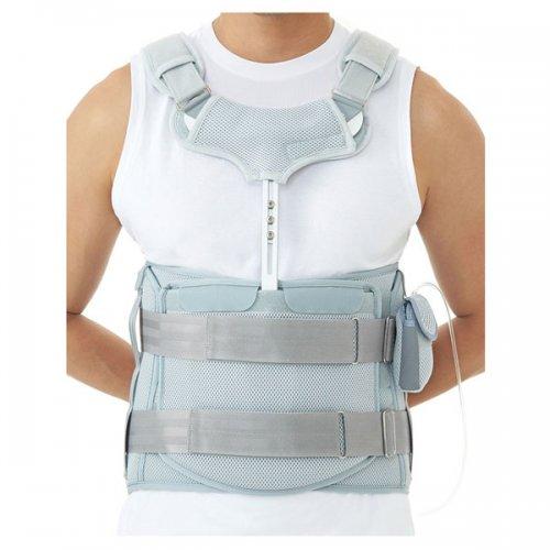 Σπονδυλικό σύστημα οσφύος (T-BAR) με αέρα  Medical Brace DR-B029